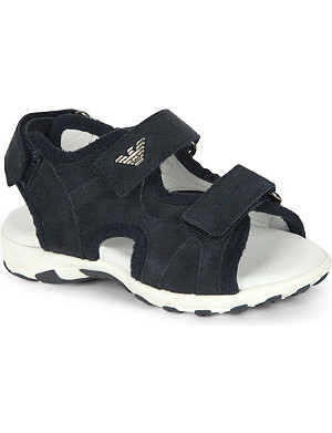ARMANI JUNIOR Suede sandals 2-4 years