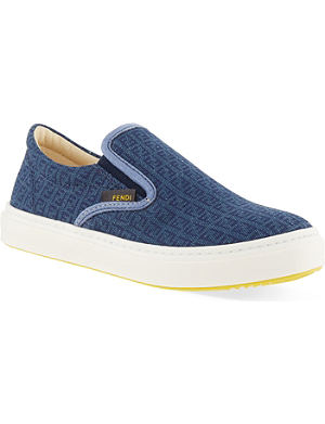FENDI Canvas skate shoes 5-11 years