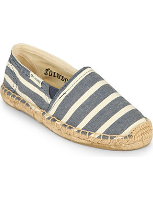 SOLUDOS Striped espadrilles 4-9 years