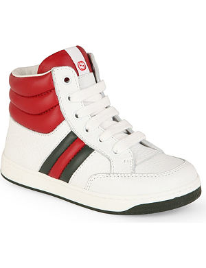 GUCCI Leather high-tops 2 - 5 years