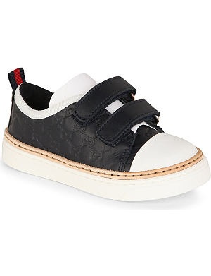 GUCCI Leather trainers 6 months - 5 years