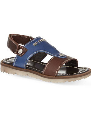 GF FERRE Leather sandals