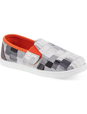 TOMS Avalon Paint Dabs trainers 5-11 years