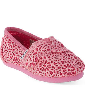TOMS Classic crocheted espadrilles