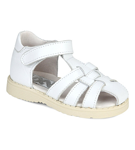 STEP2WO Selina sandals 6 months-4 years (White+leather