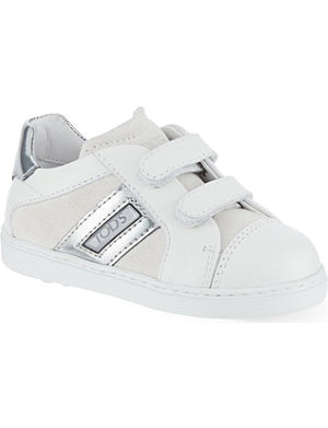 TODS Suede & leather trainers 2-4 years
