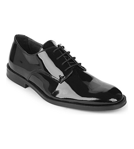 STEP2WO Watson patent lace-up shoes 7-12 years (Black+patent