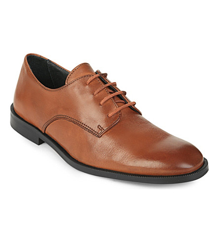 STEP2WO Watson leather lace-up shoes 7-12 years (Tan+leather