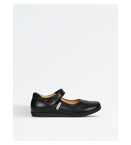 STEP2WO Hayley leather shoes 4-8 years (Black+leather
