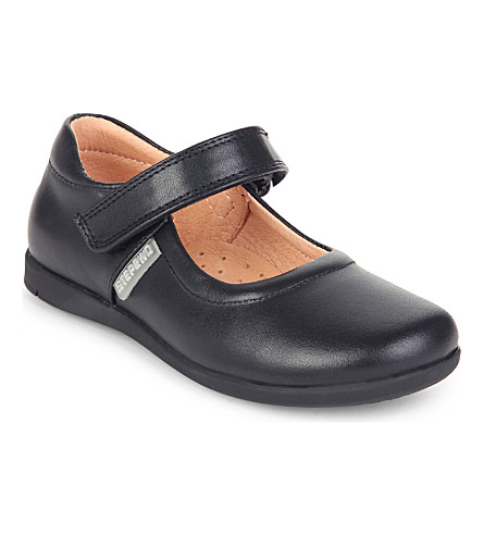 STEP2WO Lynn2 leather shoes 4-8 years (Black+leather