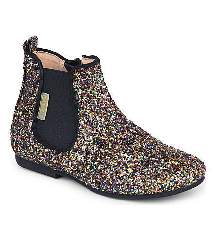 STEP2WO Scotch glitter boots 4-9 years (Gold+glitter