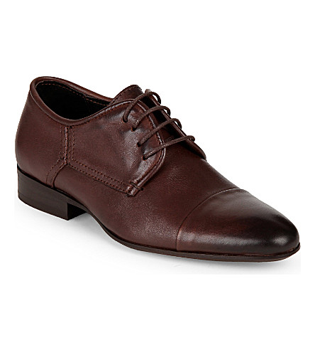 STEP2WO Jimmy leather shoes 6-12 years (Brown+leather