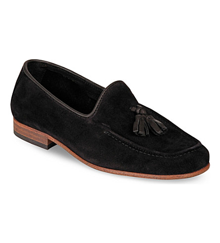 STEP2WO Kevin leather shoes 7-12 years (Black+suede