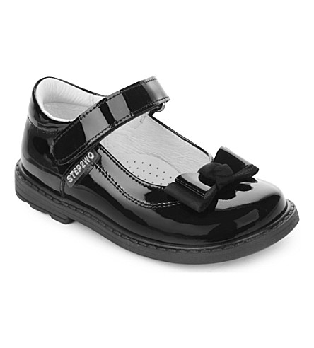 STEP2WO Rita patent leather bar shoes 2-5 years (Black+patent