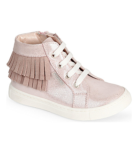 STEP2WO Mini Tonka metallic glitter trainers 2-10 years (Pink+glitter