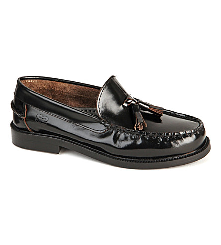 STEP2WO Henry leather loafers 7-12 years old (Black+leather