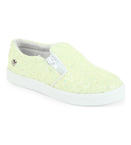 STEP2WO Prima glitter skate shoes 3-9 years (Yellow