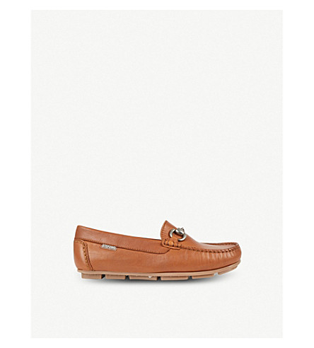 STEP2WO Charlie leather moccasins 7-12 years (Tan+leather