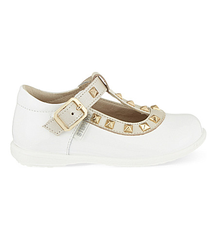 STEP2WO Minivenetia patent-leather pumps 1-4 years (White+patent