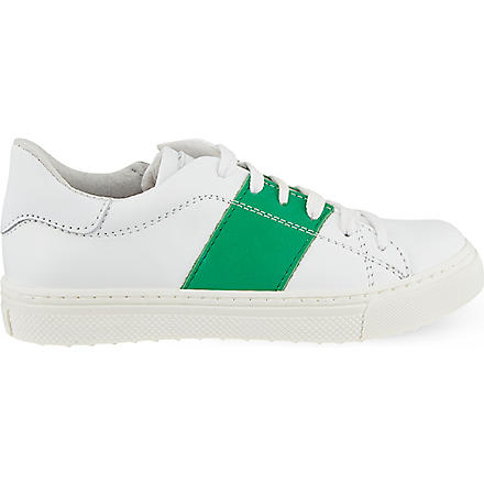 Step2wo: Scolare leather trainers 5-11 years - Hiphunters Shop