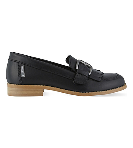 STEP2WO Gina leather loafers 1-11 years (Black