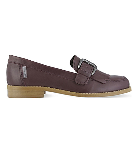 STEP2WO Gina leather loafers 1-11 years (Wine
