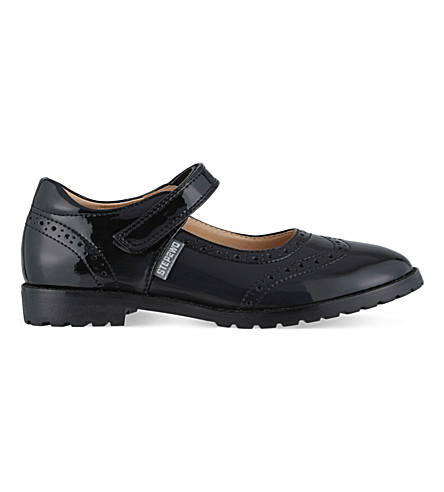 STEP2WO Regina 2 patent leather school shoes 7-11 years (Black+patent