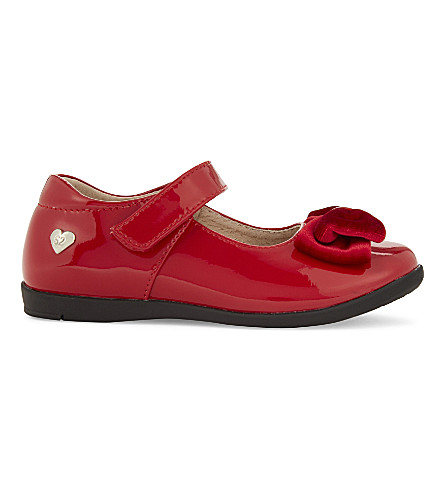 STEP2WO Coronet2 patent mary janes 5-7 years (Red+patent