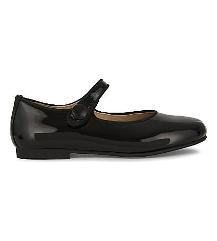 STEP2WO Charol patent-leather mary jane shoes 4-8 years (Black+patent