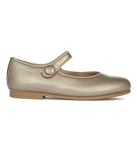 STEP2WO Charol leather bar shoes 4-8 years (Gold+leather