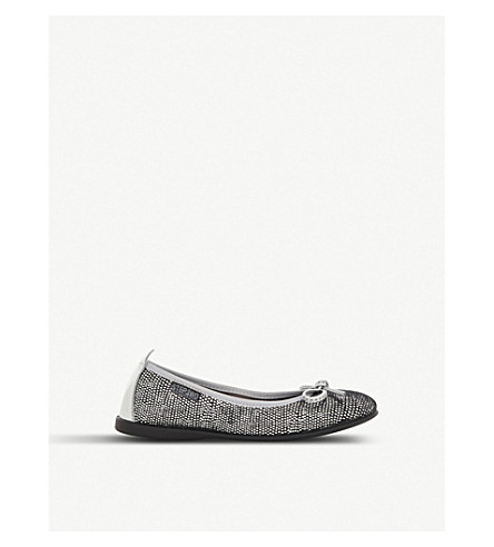 STEP2WO Bailarina leather pumps 6-11 years (Silver