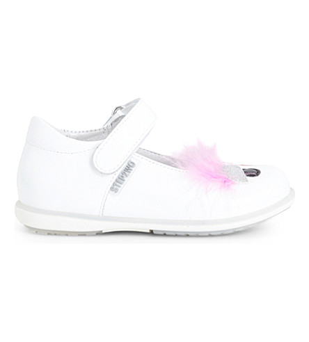 STEP2WO Babette leather mary jane shoes 6 months-4 years (White+patent