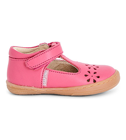 STEP2WO Lottie leather sandals 6 months-4 years (Fuchsia+leath