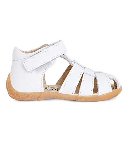 STEP2WO Peyton leather sandals 1-4 years (White+leather