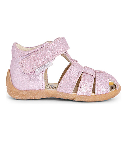 STEP2WO Peyton glitter gladiator sandals 1-4 years (Pink+glitter