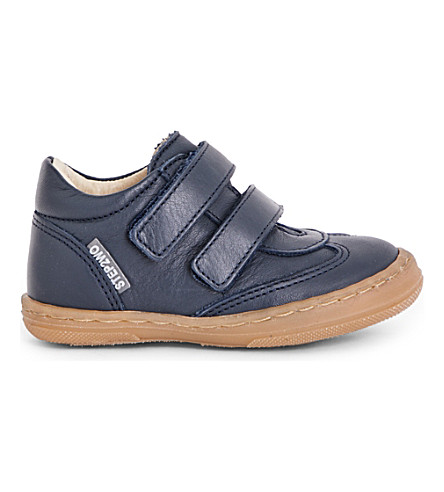 STEP2WO Nicky leather boots 1-5 years (Navy+leather