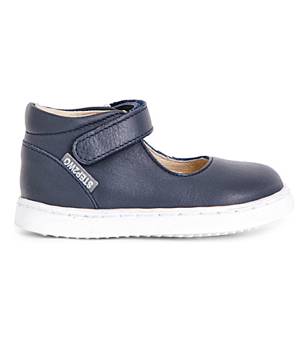 STEP2WO Nora leather boots 1-4 years (Navy+leather