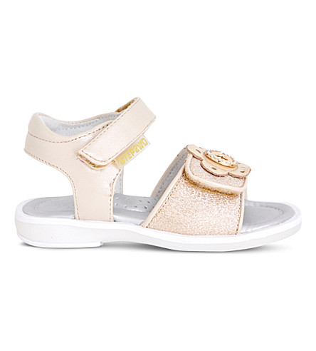 STEP2WO Wisteria metallic sandals 3-7 years (Gold