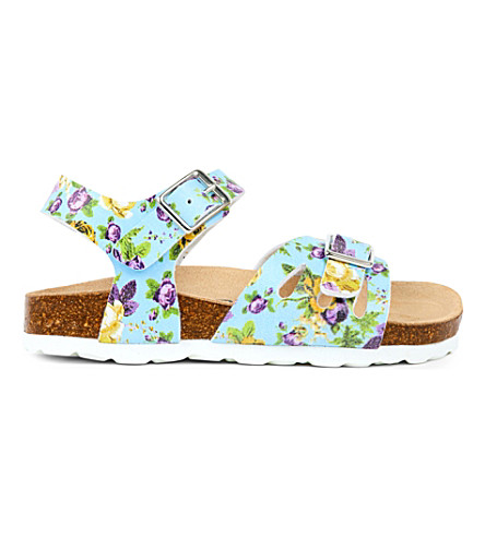 STEP2WO Saffy floral print sandals 2-8 years (Blue