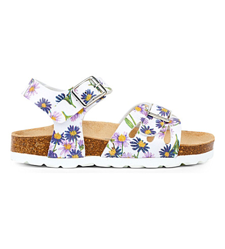 STEP2WO Saffy floral print sandals 2-8 years (White