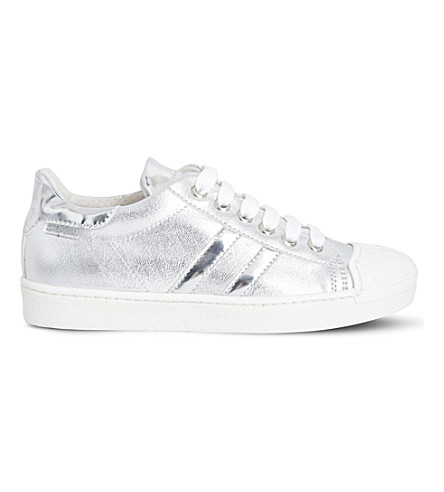 STEP2WO Falcon 2 metallic trainers 6-12 years (Silver