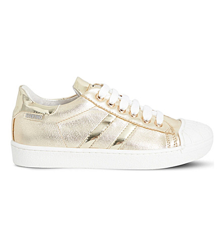 STEP2WO Falcon 2 metallic trainers 6-12 years (Gold