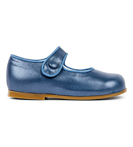 STEP2WO Mary Jane leather shoes 1-4 years (Navy+leather