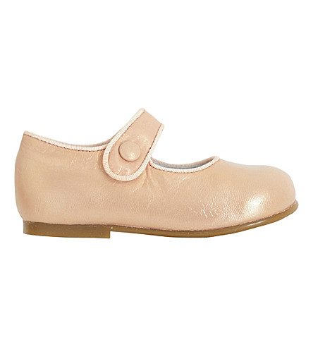 STEP2WO Mary Jane leather shoes 1-4 years (Pink+leather
