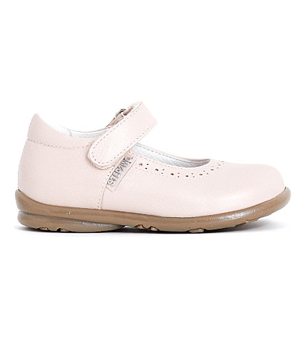 STEP2WO Hermione leather mary jane shoes 1-4 years (Pink+leather