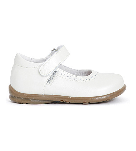 STEP2WO Hermione leather mary jane shoes 1-4 years (Beige+leather
