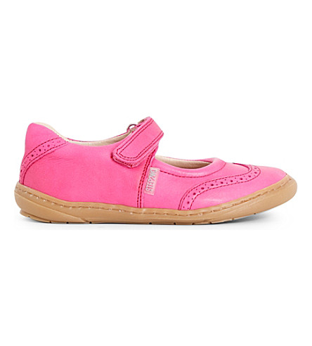 STEP2WO Clarissa leather mary jane shoes 3-8 years (Fuchsia+leath