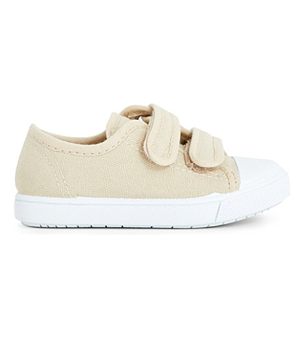 STEP2WO Seaside canvas trainers 6 months - 7 years (Beige
