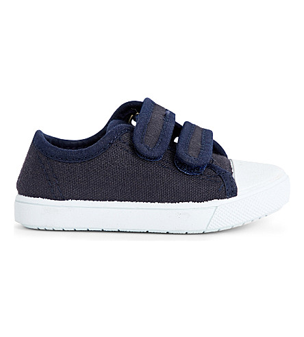 STEP2WO Seaside canvas trainers 6 months - 7 years (Navy