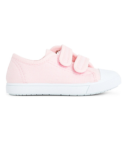 STEP2WO Seaside canvas trainers 6 months - 7 years (Pale+pink
